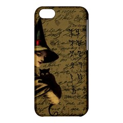 Witchcraft Vintage Apple Iphone 5c Hardshell Case by Valentinaart