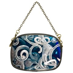 Spiral Glass Abstract  Chain Purses (one Side)  by amphoto