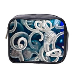 Spiral Glass Abstract  Mini Toiletries Bag 2 Side by amphoto