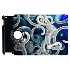 Spiral Glass Abstract  Apple Ipad 2 Flip 360 Case by amphoto