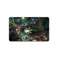 Flowers Fractal Bright 3840x2400 Magnet (name Card) by amphoto