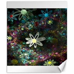 Flowers Fractal Bright 3840x2400 Canvas 8  X 10  by amphoto