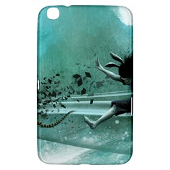 Running Abstraction Drawing  Samsung Galaxy Tab 3 (8 ) T3100 Hardshell Case  by amphoto