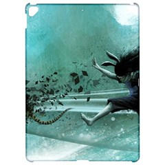 Running Abstraction Drawing  Apple Ipad Pro 12 9   Hardshell Case by amphoto