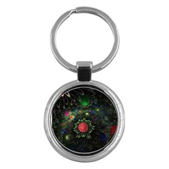 Shapes Circles Flowers  Key Chains (round)  by amphoto