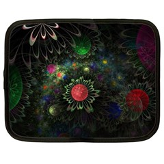 Shapes Circles Flowers  Netbook Case (xl)  by amphoto