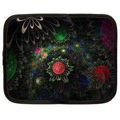 Shapes Circles Flowers  Netbook Case (xxl)  by amphoto