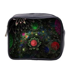 Shapes Circles Flowers  Mini Toiletries Bag 2 Side by amphoto