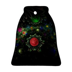 Shapes Circles Flowers  Bell Ornament (two Sides) by amphoto