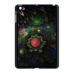 Shapes Circles Flowers  Apple Ipad Mini Case (black) by amphoto