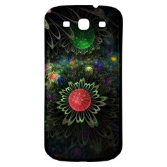 Shapes Circles Flowers  Samsung Galaxy S3 S Iii Classic Hardshell Back Case by amphoto