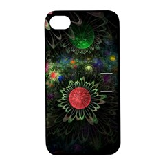Shapes Circles Flowers  Apple Iphone 4/4s Hardshell Case With Stand by amphoto
