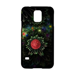 Shapes Circles Flowers  Samsung Galaxy S5 Hardshell Case  by amphoto