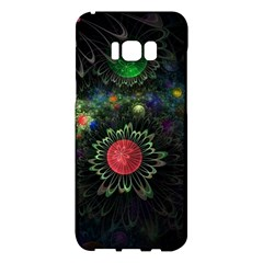 Shapes Circles Flowers  Samsung Galaxy S8 Plus Hardshell Case  by amphoto