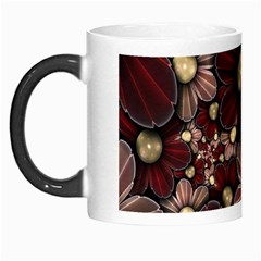 Flower Background Line Morph Mugs by amphoto