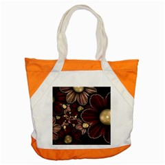 Flower Background Line Accent Tote Bag by amphoto