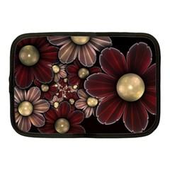 Flower Background Line Netbook Case (medium)  by amphoto