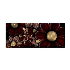 Flower Background Line Cosmetic Storage Cases by amphoto
