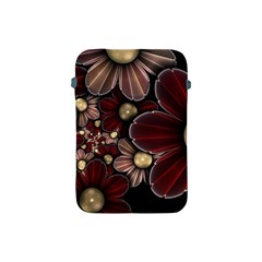 Flower Background Line Apple Ipad Mini Protective Soft Cases by amphoto