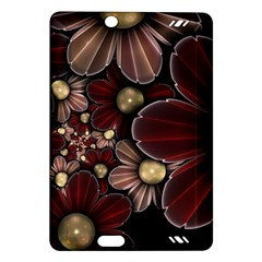 Flower Background Line Amazon Kindle Fire Hd (2013) Hardshell Case by amphoto