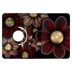 Flower Background Line Kindle Fire Hdx Flip 360 Case by amphoto