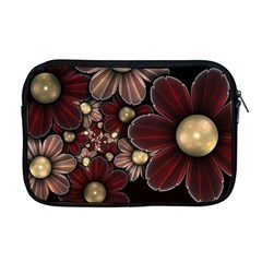 Flower Background Line Apple Macbook Pro 17  Zipper Case by amphoto