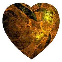 Spot Background Dark  Jigsaw Puzzle (heart) by amphoto