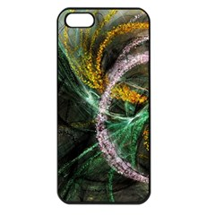 Connection Background Line Apple Iphone 5 Seamless Case (black) by amphoto