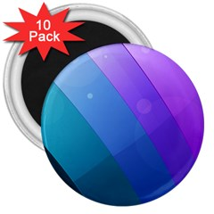 Line Glare Light 3840x2400 3  Magnets (10 Pack)  by amphoto