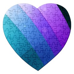 Line Glare Light 3840x2400 Jigsaw Puzzle (heart) by amphoto