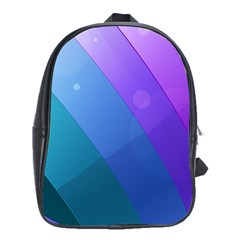 Line Glare Light 3840x2400 School Bag (xl) by amphoto