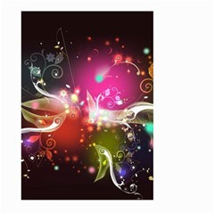 Plant Patterns Colorful  Large Garden Flag (two Sides) by amphoto