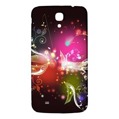 Plant Patterns Colorful  Samsung Galaxy Mega I9200 Hardshell Back Case by amphoto