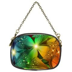 Flowers Petals Colorful  Chain Purses (one Side)  by amphoto