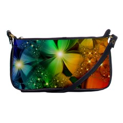 Flowers Petals Colorful  Shoulder Clutch Bags by amphoto