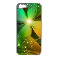 Flowers Petals Colorful  Apple Iphone 5 Case (silver) by amphoto