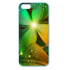 Flowers Petals Colorful  Apple Seamless Iphone 5 Case (color) by amphoto