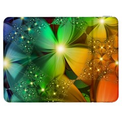 Flowers Petals Colorful  Samsung Galaxy Tab 7  P1000 Flip Case by amphoto