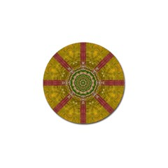Mandala In Metal And Pearls Golf Ball Marker (10 Pack) by pepitasart
