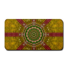 Mandala In Metal And Pearls Medium Bar Mats