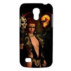 The Dark Side, Women With Skulls In The Night Galaxy S4 Mini by FantasyWorld7