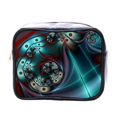 Rotation Patterns Lines  Mini Toiletries Bags by amphoto
