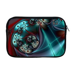 Rotation Patterns Lines  Apple Macbook Pro 17  Zipper Case by amphoto
