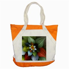 Flower Background Colorful Accent Tote Bag by amphoto