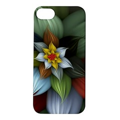 Flower Background Colorful Apple Iphone 5s/ Se Hardshell Case by amphoto