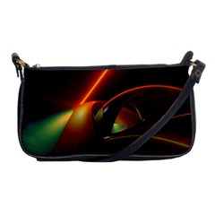 Line Figure Background  Shoulder Clutch Bags by amphoto