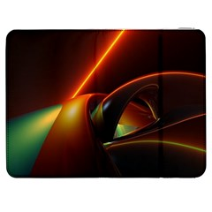 Line Figure Background  Samsung Galaxy Tab 7  P1000 Flip Case by amphoto