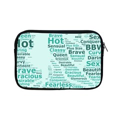 Belicious World Curvy Girl Wordle Apple Ipad Mini Zipper Cases by beliciousworld