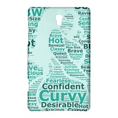 Belicious World Curvy Girl Wordle Samsung Galaxy Tab S (8 4 ) Hardshell Case  by beliciousworld