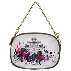 Figure Circle Triangle Chain Purses (one Side)  by amphoto